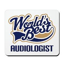 Worlds Best Audiologist Mousepad