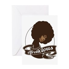 Afrolicious Greeting Card