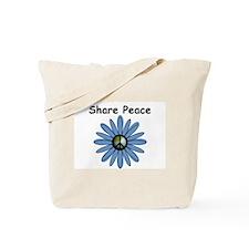 Share Peace Tote Bag