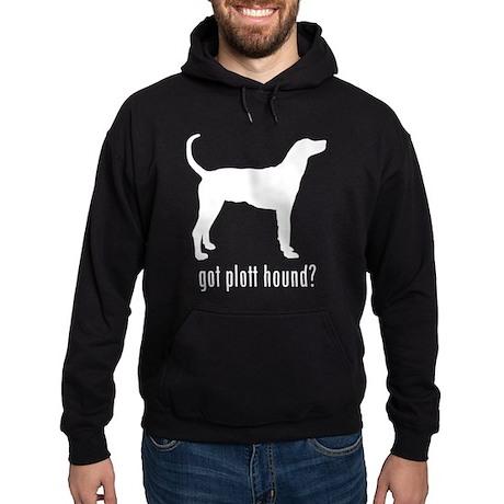 Plott Hound Hoodie (dark)