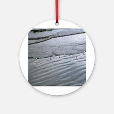 Ocean Lines Ornament (Round)