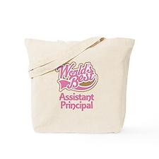 Worlds Best Assistant Principal Tote Bag