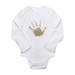 Proud to be a Primate Long Sleeve Infant Bodysuit