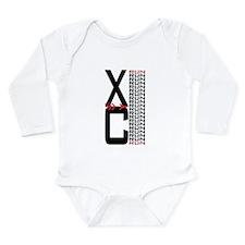 XC Run Run Long Sleeve Infant Bodysuit