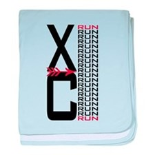 XC Run Run Infant Blanket