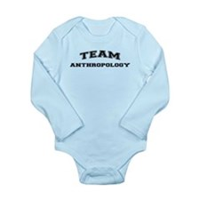 Team Anthropology Long Sleeve Infant Bodysuit