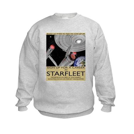 Starfleet Recruitment Kids Sweatshirt