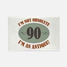 90, Not Obsolete Rectangle Magnet