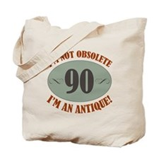 90, Not Obsolete Tote Bag