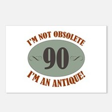 90, Not Obsolete Postcards (Package of 8)