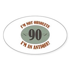 90, Not Obsolete Decal