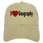I Love Geography Cap