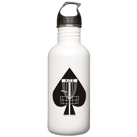Disc Golf ACE Stainless Water Bottle 1.0L