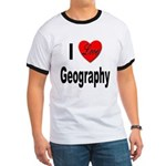 I Love Geography Ringer T