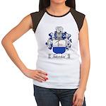 Todeschini Coat of Arms Women's Cap Sleeve T-Shirt