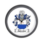 Todeschini Coat of Arms Wall Clock