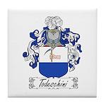 Todeschini Coat of Arms Tile Coaster