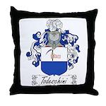 Todeschini Coat of Arms Throw Pillow