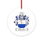 Todeschini Coat of Arms Ornament (Round)