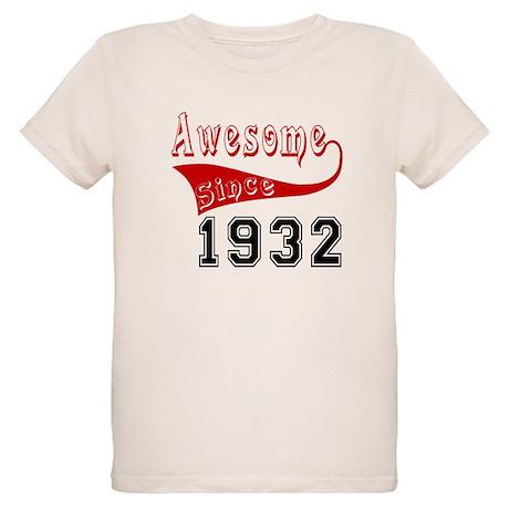 Awesome Since 1932 Birthday D Organic Kids T-Shirt