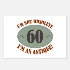 60, Not Obsolete Postcards (Package of 8)