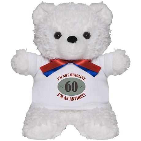 60, Not Obsolete Teddy Bear