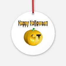 Halloween OT Ornament (Round)