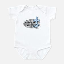 Walking By Faith Infant Bodysuit