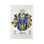 Todaro Family Crest Rectangle Magnet (10 pack)