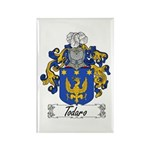 Todaro Family Crest Rectangle Magnet (100 pack)