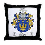 Todaro Family Crest Throw Pillow