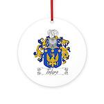 Todaro Family Crest Ornament (Round)