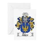Todaro Family Crest Greeting Cards (Pk of 10)