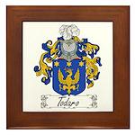 Todaro Family Crest Framed Tile