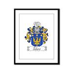 Todaro Family Crest Framed Panel Print