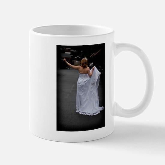 Bride Hitchhike Vertical Mug