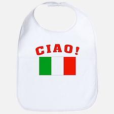 Ciao Italia Italy flag Bib