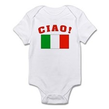 Ciao Italia Italy flag Infant Creeper