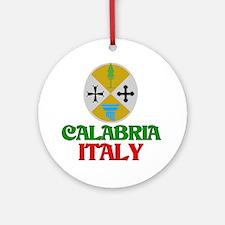 Calabria Italy Ornament (Round)