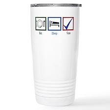 Eat Sleep Vote Travel Mug