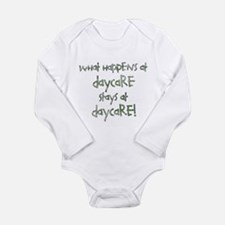 Daycare Long Sleeve Infant Bodysuit