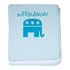Weepublican Infant Blanket