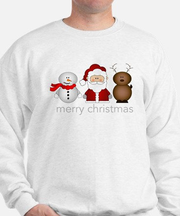 Merry Christmas Characters Jumper