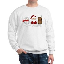 Merry Christmas Characters Sweatshirt