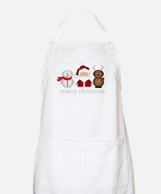 Merry Christmas Characters Apron