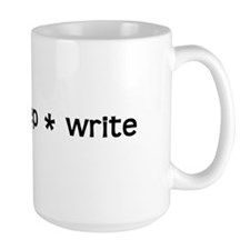 Eat * Sleep * Write Mug