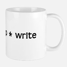 Eat * Sleep * Write Mug