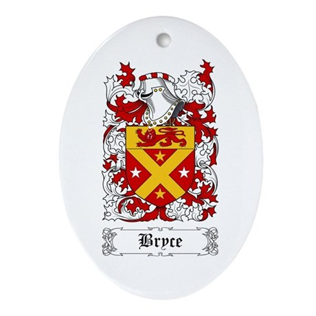 Bryce Ornament (Oval)