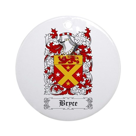 Bryce Ornament (Round)