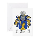 Tironi Family Crest Greeting Cards (Pk of 10)